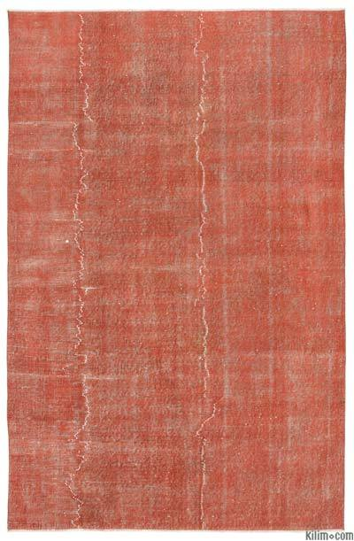 "Over-dyed Turkish Vintage Rug - 5'4"" x 8'3"" (64 in. x 99 in.)"