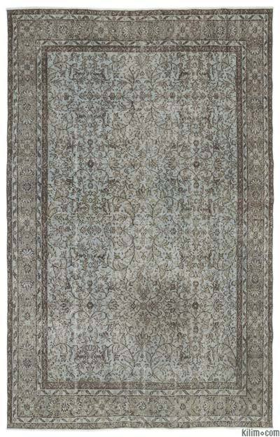 Turkish Vintage Area Rug - 6'1'' x 9'9'' (73 in. x 117 in.)