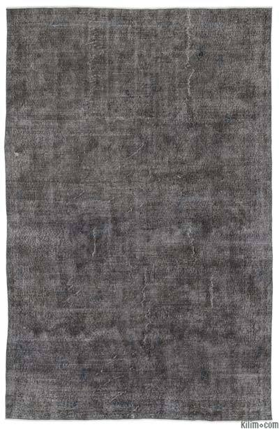 Over-dyed Turkish Vintage Rug - 6'4'' x 10' (76 in. x 120 in.)