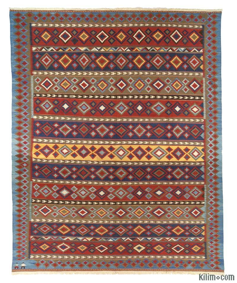 K0015750 Red New Turkish Kilim Rug