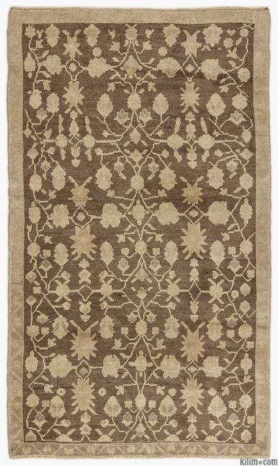Beige Vintage Turkish Rug - Heritage - 4'3'' x 7'3'' (51 in. x 87 in.)
