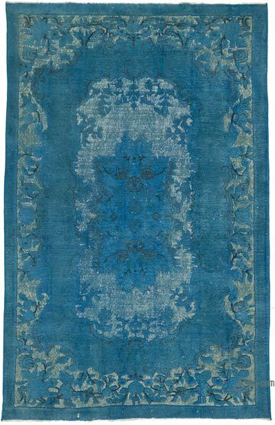 "Hand Carved Over-Dyed Rug - 6'2"" x 9'11"" (74 in. x 119 in.)"