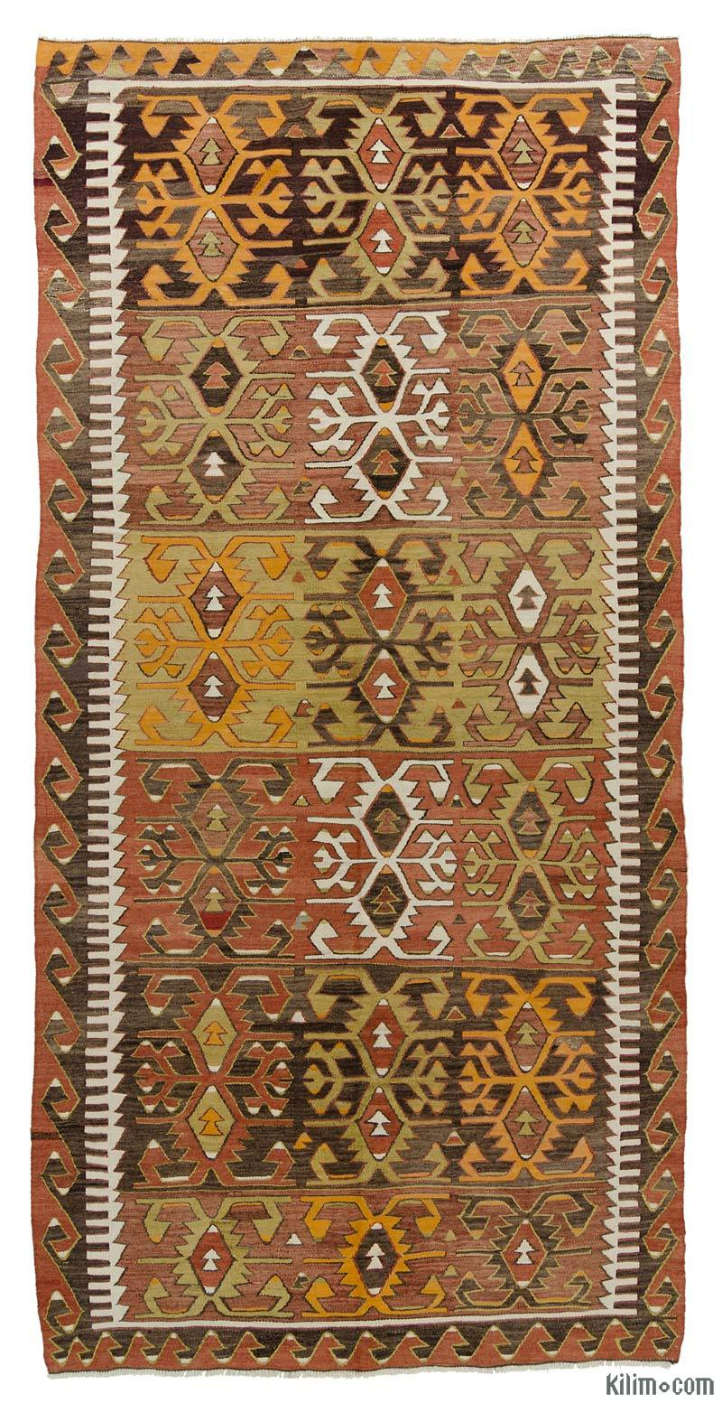 k0015993 multicolor vintage konya kilim rug. Black Bedroom Furniture Sets. Home Design Ideas