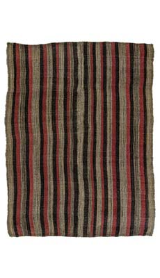 K0013266 vintage avar kilim rug kilim rugs overdyed for Retro tapete turkis
