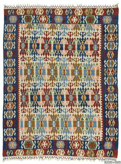 New Kayseri Kilim Rug - 6'4'' x 8'2'' (76 in. x 98 in.)