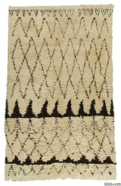 "New Turkish Tulu Rug - 6'9"" x 11' (81 in. x 132 in.)"