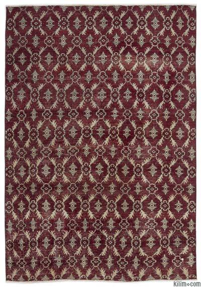 "Turkish Vintage Area Rug - 4'9"" x 6'11"" (57 in. x 83 in.)"