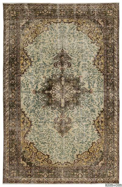 "Turkish Vintage Area Rug - 5'5"" x 8'3"" (65 in. x 99 in.)"