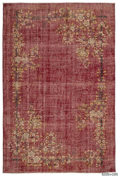 "Turkish Vintage Area Rug - 6'10"" x 10'4"" (82 in. x 124 in.)"