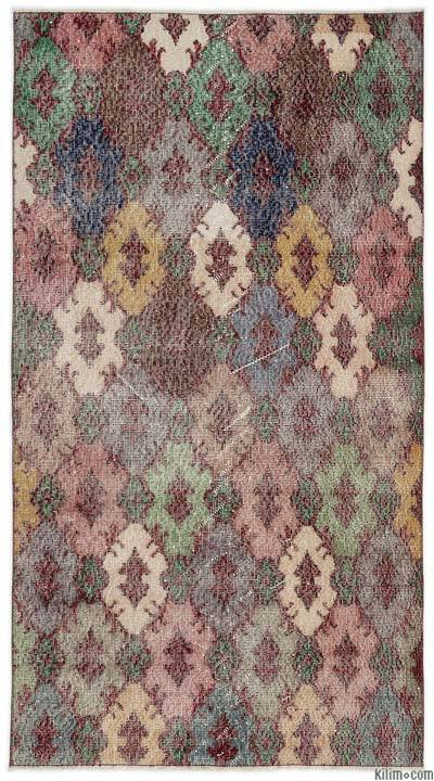 "Turkish Vintage Area Rug - 3'5"" x 6'4"" (41 in. x 76 in.)"