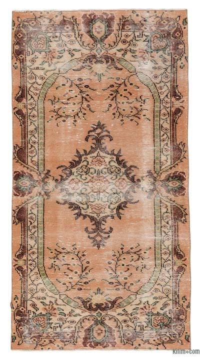 "Turkish Vintage Area Rug - 3'3"" x 6'6"" (39 in. x 78 in.)"