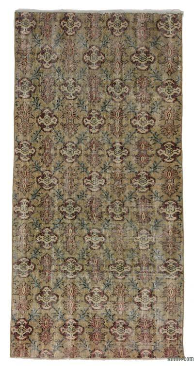 Turkish Vintage Area Rug - 2'11'' x 5'10'' (35 in. x 70 in.)