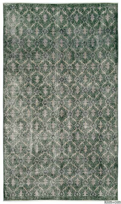 "Turkish Vintage Area Rug - 5'1"" x 8'10"" (61 in. x 106 in.)"