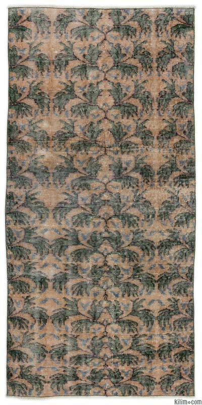 "Turkish Vintage Area Rug - 3' x 6'4"" (36 in. x 76 in.)"