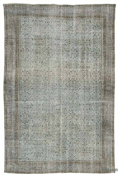 "Over-dyed Turkish Vintage Rug - 6'10"" x 10'8"" (82 in. x 128 in.)"