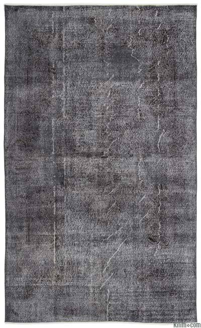 "Over-dyed Turkish Vintage Rug - 6'5"" x 10'6"" (77 in. x 126 in.)"