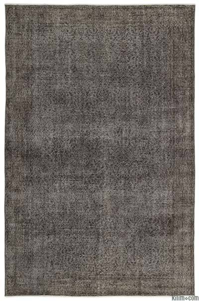 Over-dyed Turkish Vintage Rug - 6'8'' x 10'4'' (80 in. x 124 in.)