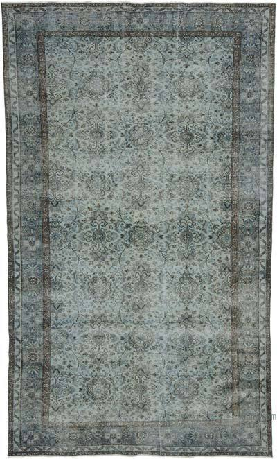 "Over-dyed Turkish Vintage Rug - 5'11"" x 10'1"" (71 in. x 121 in.)"
