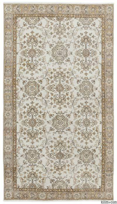 "Over-dyed Turkish Vintage Rug - 3'8"" x 6'8"" (44 in. x 80 in.)"
