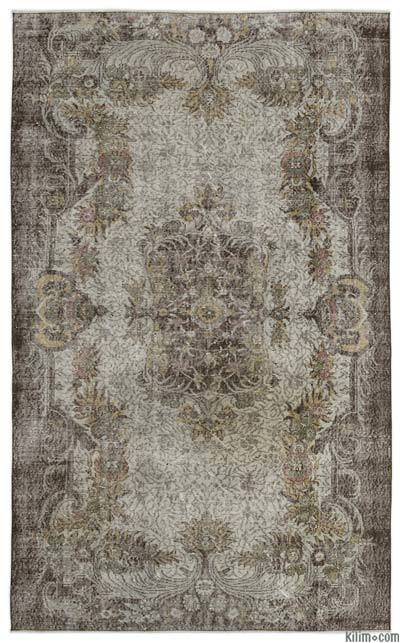 Turkish Vintage Area Rug - 6' x 9'11'' (72 in. x 119 in.)