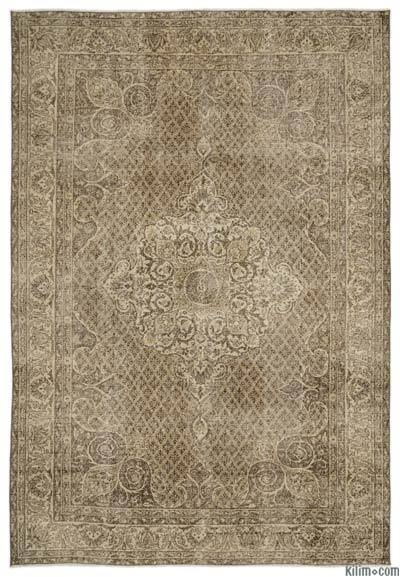 Turkish Vintage Area Rug - 6'9'' x 10'2'' (81 in. x 122 in.)