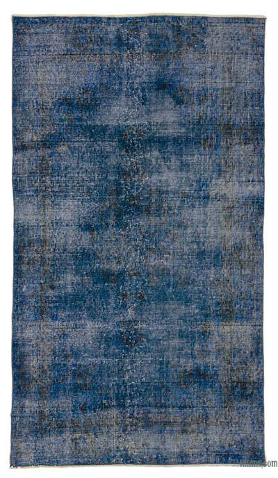 "Over-dyed Turkish Vintage Rug - 3'9"" x 6'7"" (45 in. x 79 in.)"