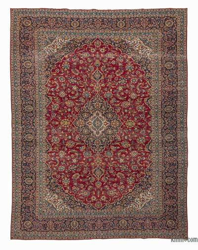 "Vintage Hand-knotted Oriental Rug - 9'11"" x 13'1"" (119 in. x 157 in.)"