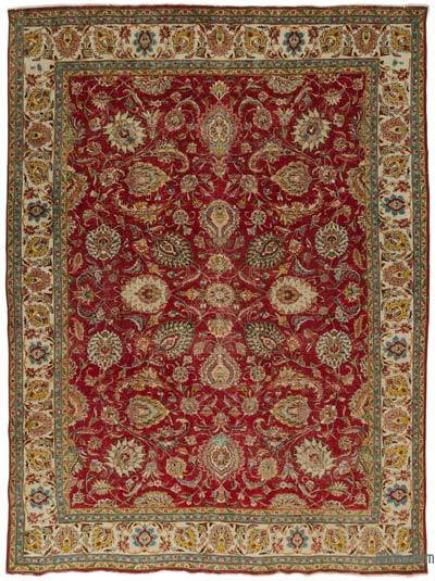 "Vintage Hand-knotted Oriental Rug - 9'8"" x 12'10"" (116 in. x 154 in.)"