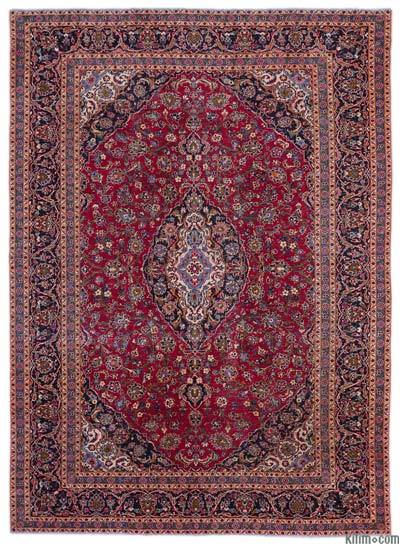 "Vintage Hand-knotted Oriental Rug - 9'6"" x 13'1"" (114 in. x 157 in.)"