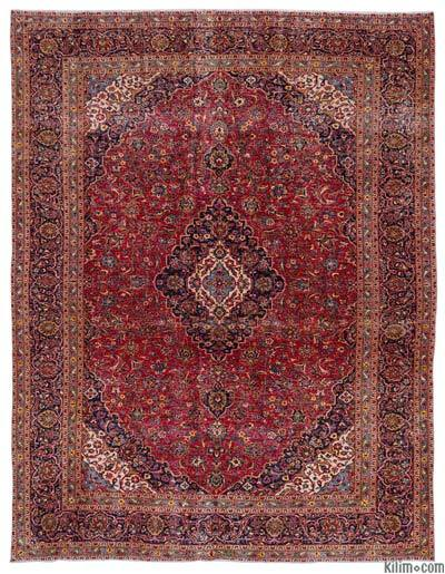 "Vintage Hand-knotted Oriental Rug - 9'7"" x 12'8"" (115 in. x 152 in.)"