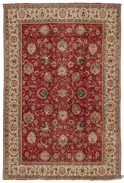 "Vintage Hand-knotted Oriental Rug - 9'2"" x 13'5"" (110 in. x 161 in.)"