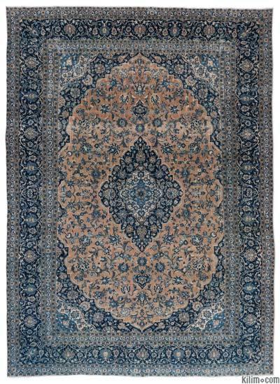 Persian Vintage Rug - K0018343 - Persian Rugs Kilim Rugs, Overdyed Vintage Rugs, Hand-made