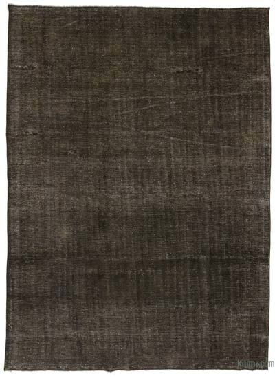 Grey Over-dyed Vintage Rug - 9'7'' x 13'1'' (115 in. x 157 in.)