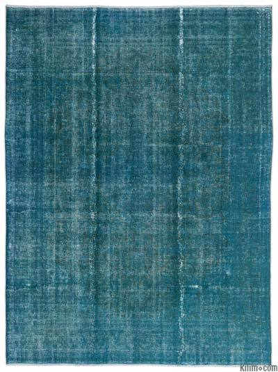 "Over-dyed Vintage Hand-knotted Oriental Rug - 9'3"" x 12'9"" (111 in. x 153 in.)"