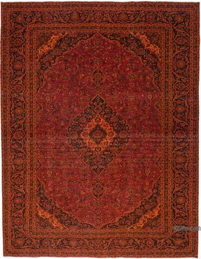 Over-dyed Vintage Rug - 9'8'' x 12'6'' (116 in. x 150 in.)