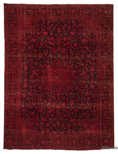 "Over-dyed Vintage Hand-knotted Oriental Rug - 10' x 12'10"" (120 in. x 154 in.)"