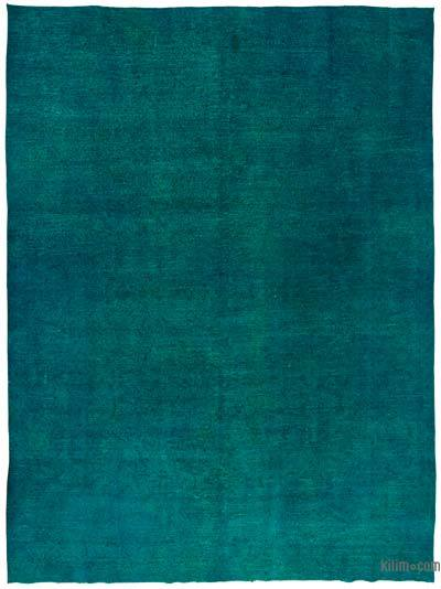 Over-dyed Vintage Rug - 9'7'' x 13' (115 in. x 156 in.)