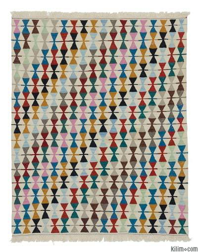 New Turkish Kilim Rug - 4'11'' x 6'2'' (59 in. x 74 in.)