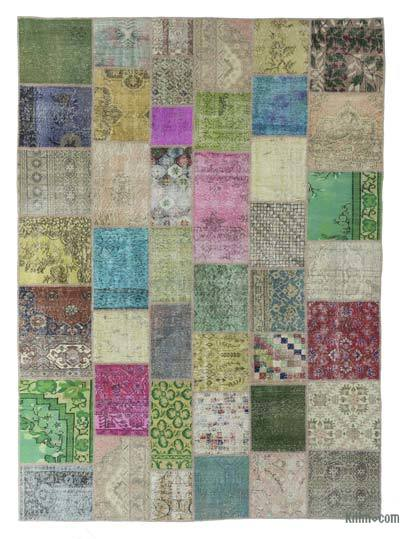 "Turkish Patchwork Rug - 8'5"" x 11'6"" (101 in. x 138 in.)"