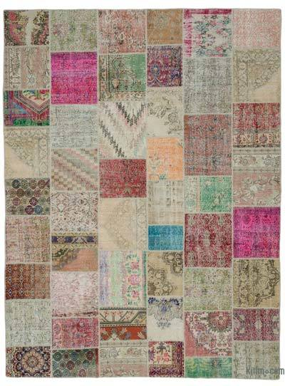 "Turkish Patchwork Rug - 9'11"" x 13'3"" (119 in. x 159 in.)"