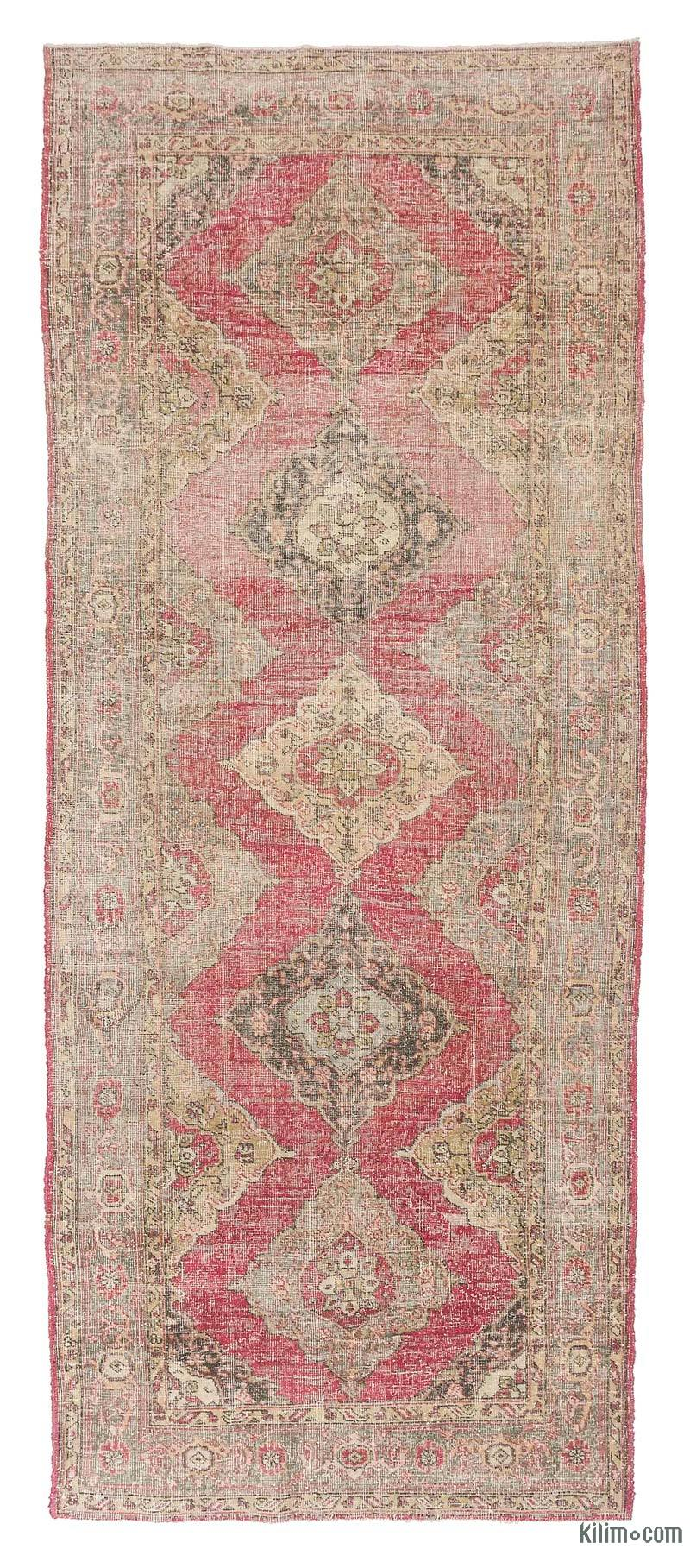 K0018821 Turkish Vintage Runner Rug