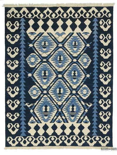 "New Handwoven Turkish Kilim Rug - 6'1"" x 7'8"" (73 in. x 92 in.)"