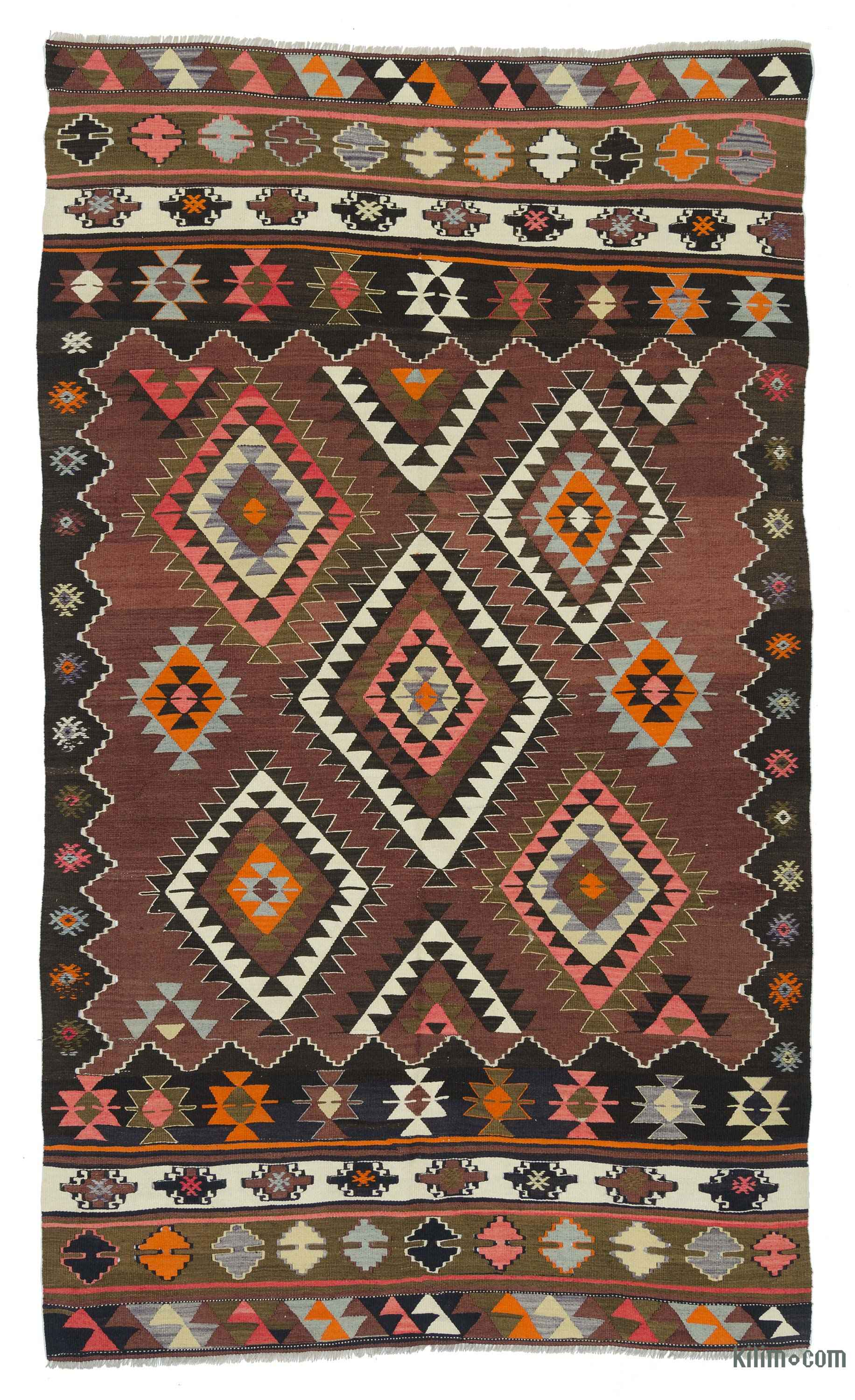 k0018867 red vintage balikesir kilim rug. Black Bedroom Furniture Sets. Home Design Ideas
