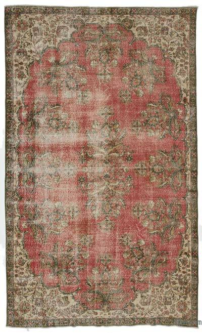 "Turkish Vintage Area Rug - 7' x 11'8"" (84 in. x 140 in.)"