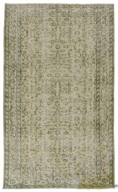 "Turkish Vintage Area Rug - 5'1"" x 8'4"" (61 in. x 100 in.)"