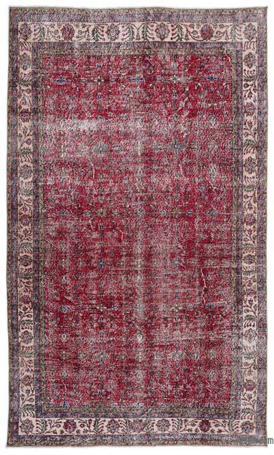 "Turkish Vintage Area Rug - 6'2"" x 10'6"" (74 in. x 126 in.)"