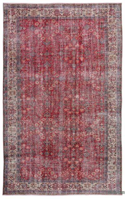 "Turkish Vintage Area Rug - 6'6"" x 10'5"" (78 in. x 125 in.)"