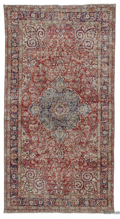 "Turkish Vintage Area Rug - 5'3"" x 9'11"" (63 in. x 119 in.)"