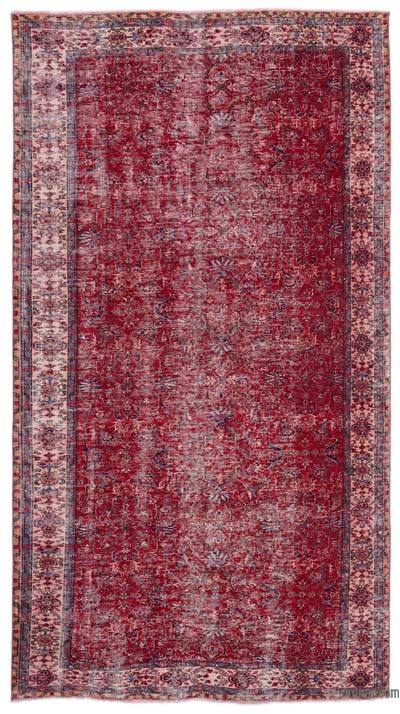 Turkish Vintage Rug - 5'5'' x 10' (65 in. x 120 in.)