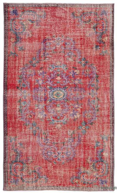 "Turkish Vintage Area Rug - 5'11"" x 10' (71 in. x 120 in.)"